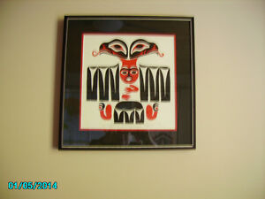 Healing Eagle First Nations print