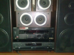 Stereo and speakers 200.00 OBO