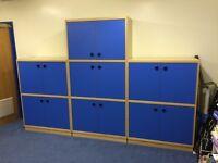 Office storage units x3