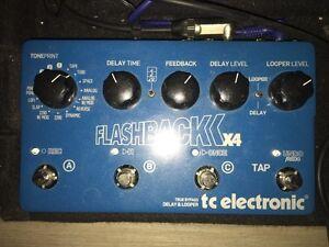 3pédales TC FlashBack, Boss DF-2, Maxon OD 808