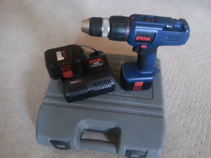 Ryobi 14.4v cordless drill