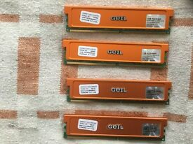 GEIL DDR2 4Gb (1GBx4) PC2-6400