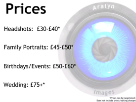 Photographer for Events, Promotion and Portraits