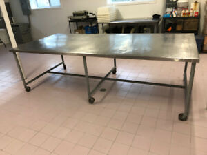 SS 10ft x 4ft Prep Table