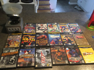 Lot of games, GameCube console