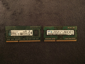 8 GB DDR 3 Laptop RAM