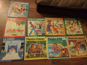 17 french children books 10$ or 1$ each