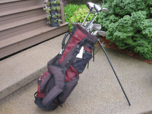 Men's Right Hand 12-pc Golf Clubs Set (Tommy Armour) & Bag