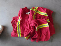 2 Pears Red Coveralls