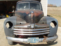 1947 Ford 2 DR for restoration Street Rod or Rat Rod