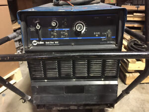 Used Cond. Miller Gold star 652 Welder with Running Gear