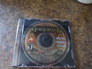 Jeu PC Morrowind Elder Scrolls III