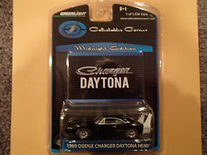 Greenlight - MIDNIGHT EDITION -1969 DODGE CHARGER DAYTONA HEMI