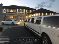 Divine Limo - Brampton - Book Now for all Events!