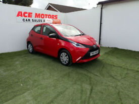 2014 64 TOYOTA AYGO X 1.0 VVT-i 5 DOOR HATCHBACK ONLY 14000 MILES WITH FSH