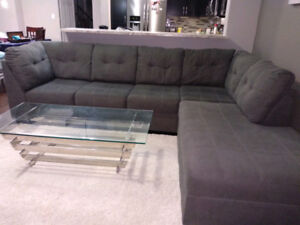 Ashley sectional couch - Grey