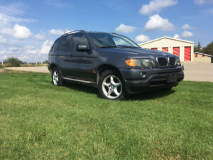 2003 BMW X5 Winter or parts