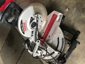 Delta mitre saw.  Used only very rarely.