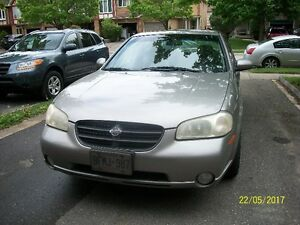 2000 NISSAN MAXIMA SE - GOOD FOR PARTS