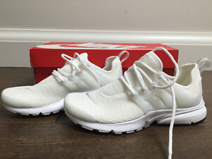 BRAND NEW All white Womens Nike Prestos