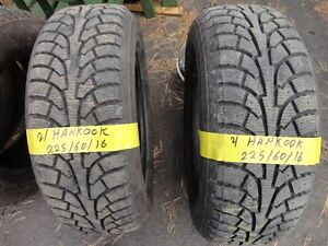 2 WINTER TIRE 225/60/R16