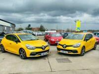 2015 Renault Clio 1.6 RENAULTSPORT NAV TROPHY 5d 220 BHP Hatchback Petrol Semi A
