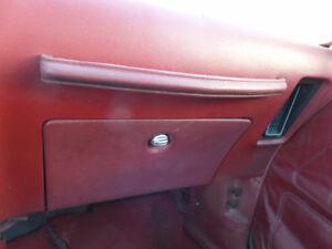 trans am/firebird glove box and passenger handle