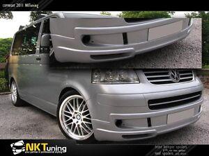 VW T5 – Front bumper spoiler Sport line [Caravelle/Multivan]