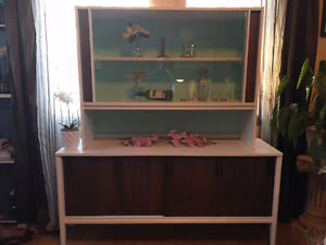Mid Century Buffet and Hutch
