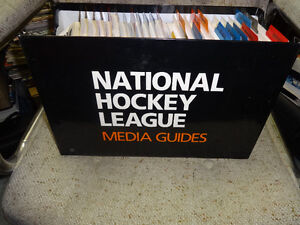 1995/96 Media Guide Yearbooks From All 26 NHL Teams