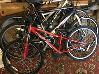 4 x bikes for spares/repairs