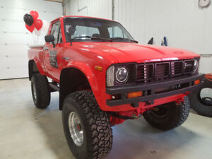 1982 toyota other pickup truck total restoration