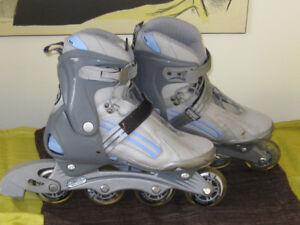 Patins à roues alignées (femmes)- In line roller blades (ladies'