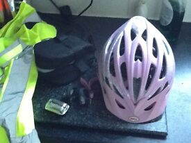 Ladies cycle accessories - safety for those dark nights