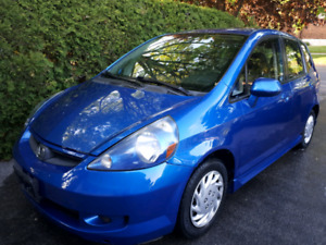 2007 Honda fit sport in excellent condition