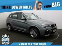 2017 BMW X3 XDRIVE20D M SPORT Auto Estate Diesel Automatic