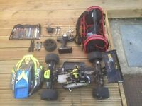 Rc nitro XLB Monster buggy