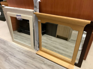 Assorted Mirrors for Sale at LumberMart - 25% off regular price