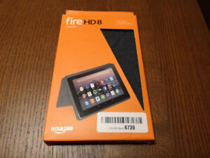 Amazon Fire HD 8 Tablet Official Case - Charcoal - Like New
