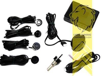 PDC 4 Sensoren Einparkhilfe mit Display für Mazda RX-7 RX-8 MX-5 MX-3 Premacy