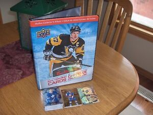 TIM HORTONS UPPER DECK NHL HOCKEY CARD ALBUM/BINDER PLUS CARDS