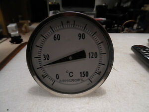 "Ashcroft 50EL60E060 /0-150C Thermometer 6"" stem Adjustable Stem Kitchener / Waterloo Kitchener Area image 2"