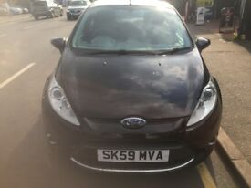 Ford Fiesta ZETEC (black) 2009