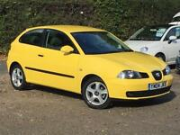 2004 Seat Ibiza 1.2 12v SX 5 Door Yellow only 22,423 Miles 1 OWNER IMMACULATE!!!