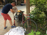 Bicycle repair at home / Velo Reparation à domicile