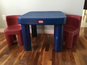 Little Tykes Table and Chairs in very good condition.