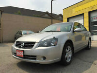 2005NISSAN ALTIMA,FRESH SAFETY,SUPER CLEAN,LOW KMS. ONLY $5999 !