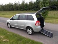 2012 Vauxhall Zafira 1.8 *Rare 4 Seats* WHEELCHAIR DISABLED ACCESSIBLE ADAPTED