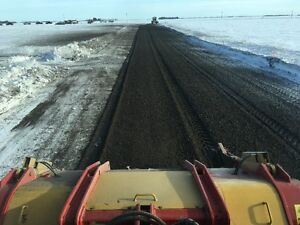 Frozen Topsoil Mulching, Removing, R.O.W, Soil Separation