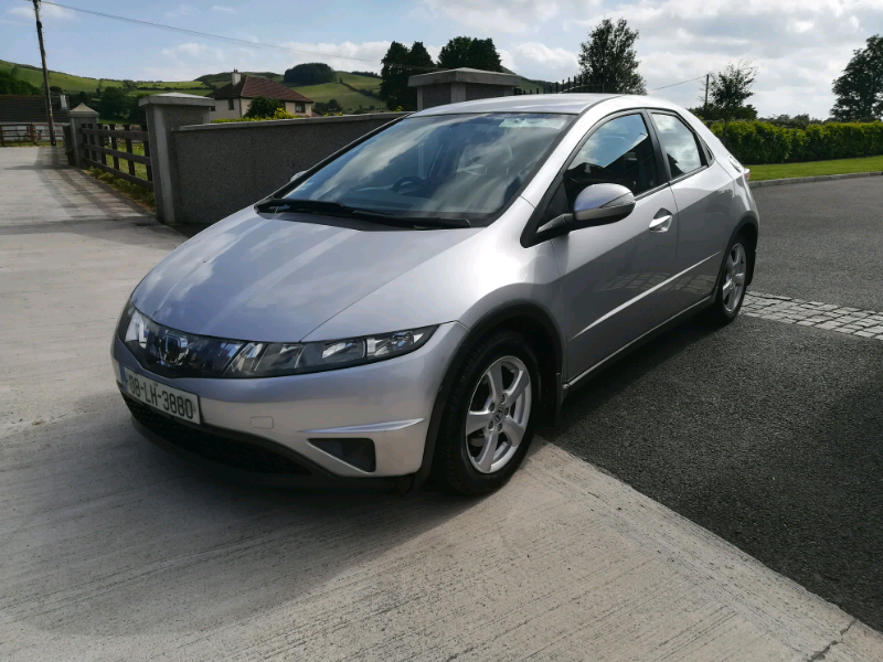 2008 Honda civic petrol southern reg nct may 20 Only 81 k £2500 | in  Warrenpoint, County Down | Gumtree